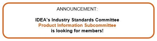 Product Information Subcommittee Is Now Accepting Applications