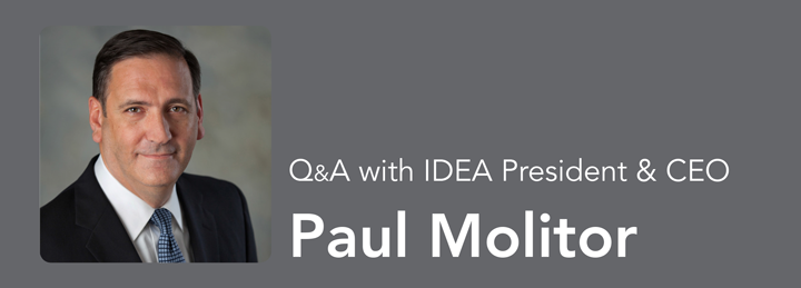 Q&A with Paul Molitor, IDEA's President & CEO