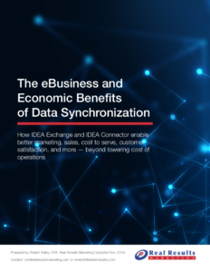 The eBusiness and Economic Benefits of Data Synchronization.